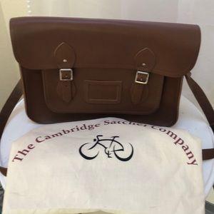 "Cambridge Satchel Company 13"" messenger bag"
